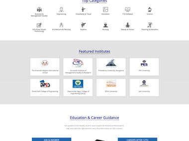 School / Institute Website