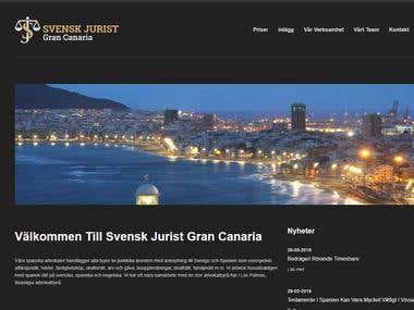 Svensk Jurist Gran Canaria site