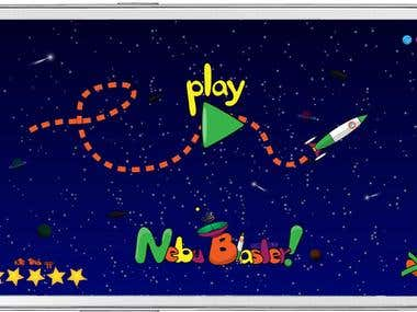 Art for Android/Iphone Side Scrolling Game