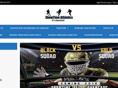showtime-athletics. Online sports store