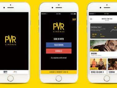 PVR app ( iOS)