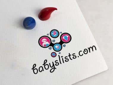 Logo for babyslists.com