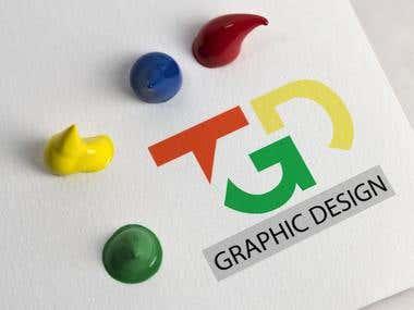 Logo for TGD Graphic Design