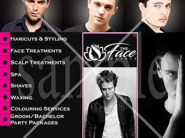 Salon Poster Design
