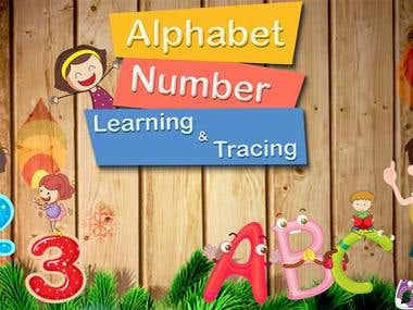 Alphabet Learning and Tracing