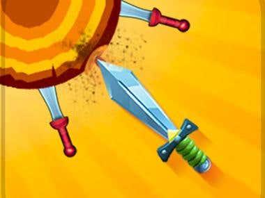 Knife Master -hit the target