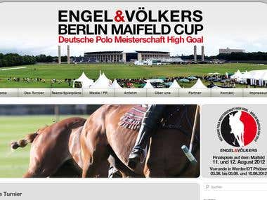 Berlin Maifeld Cup - Website (Wordpress)