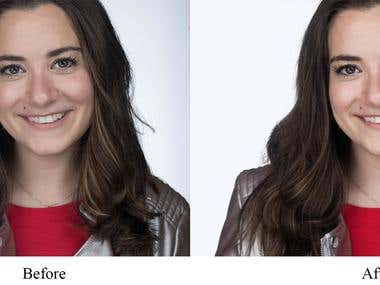 Head shot / Photo clipping / Background removal