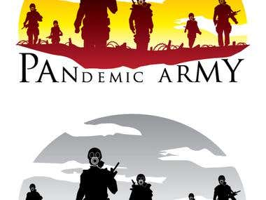 Sample Logo for Pandemic Army