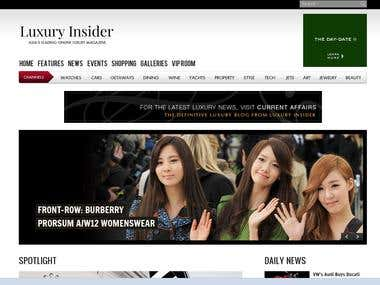 Luxury Insider - Online Magazine