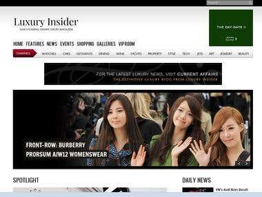 Luxury Insider - Online Magazine