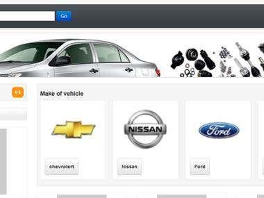 Auto Parts E commerce