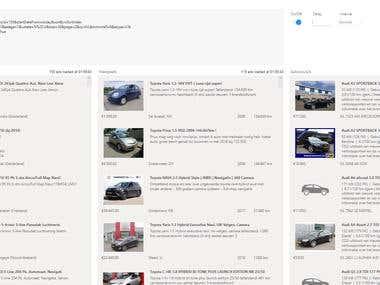 Cars Ad Monitor