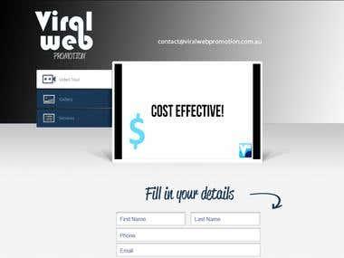 Viral Web Promotion