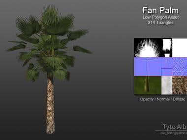 Low Polygon Vegetation