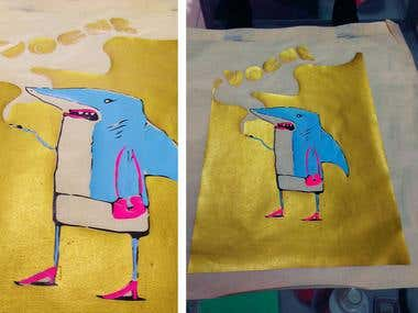 t-shirt and garment print