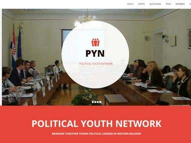 Web site - http://politicalyouthnetwork.org/