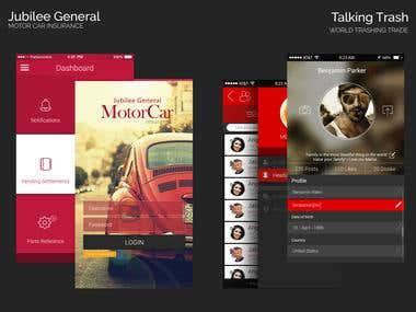 Jubilee App Design