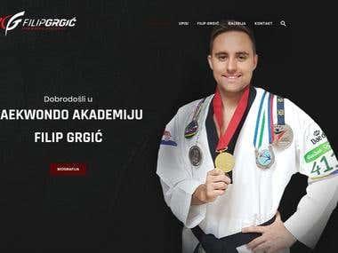 Web site - https://www.fgtaekwondo.hr/