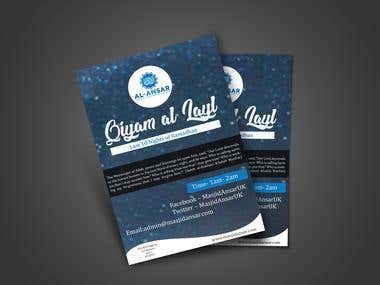 professional flyer design