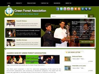 Green NGO web Site