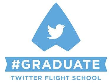 TWITTER FLIGHT SCHOOL GRADUATE