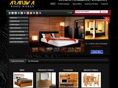 Furniture Web site