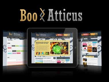 Boo Atticus - Premium Magazine Wordpress Themes