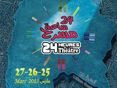 AFFICHE FESTIVAL 24 theatre kef
