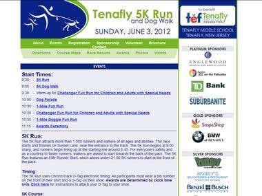 Tenafly 5k Run