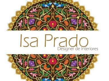 Logo da Designer de Interiores Isa Prado