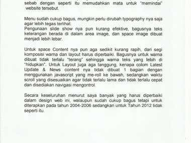 Indonesia to English