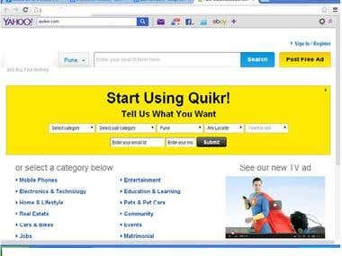 E-commerce Website tested