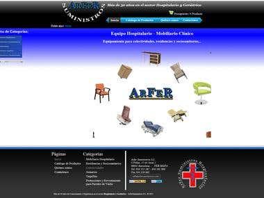 Arfer Suministros - Web Spain