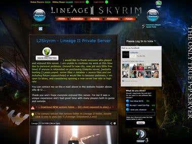L2Skyrim - MMORPG game site.