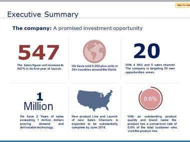 Investors Deck/Presentation