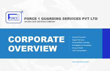 Website for Force one guarding