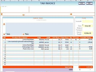 Automated Invoice Using Macro and VBA