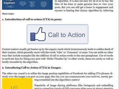 5 Ways How to optimize Facebook Wall Posts for Action