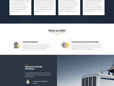 Al Mazroi Logistics - Dynamic Website