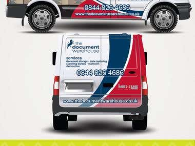 The Document Warehouse - Vehicle Signage