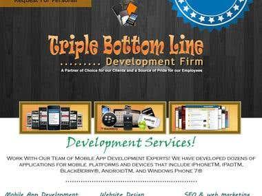 Triple Bottom Line Development Firm
