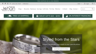 Jewelry E-commerce Website