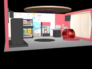 3Ds Max Interior