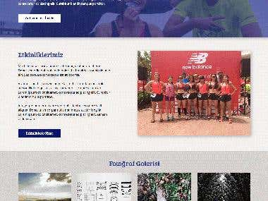 WaterRunners Website