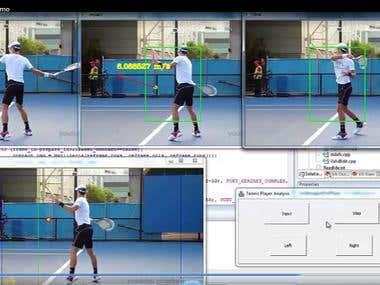 Tennis Tracking analysis