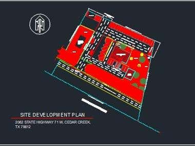 PARKING LAYOUT/ DESIGN FOR COFFEE SHOP WITH DRIVE-THRU