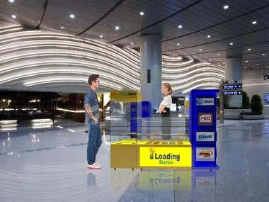 Loading Station Stalls