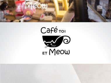 Logo Design for Cat Cafe