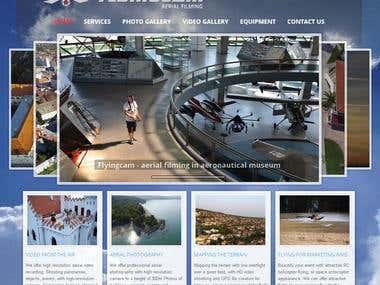 FlyingCam Website